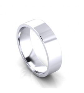 5mm Flat Court Wedding Ring Lester and Brown Jewellers