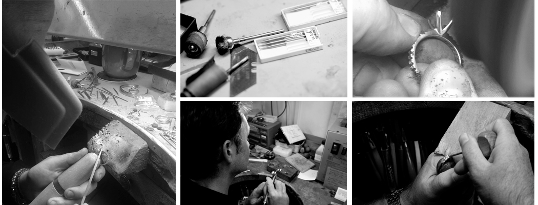 creating a bespoke wedding ring